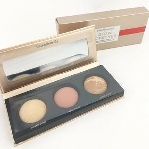 bare Minerals * GLOW TOGETHER *  3 Color Palette